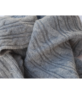 Echarpe laine CABLE
