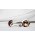 Cufflinks CRYSTAL Pink