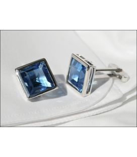 Cufflinks CRYSTAL BLEU
