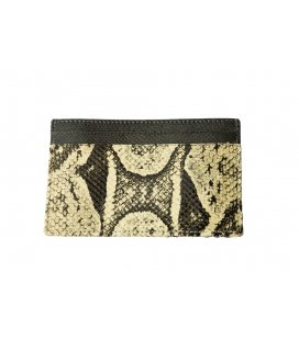 Card holder snakeskinLUCA
