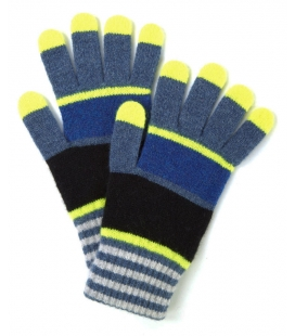 Striped wool gloves CHO