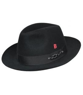 Chapeau feutre TriBeCa Noir
