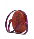 Snakeskin handbag ANGELA