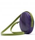 Petit sac reptile violet ANGELA