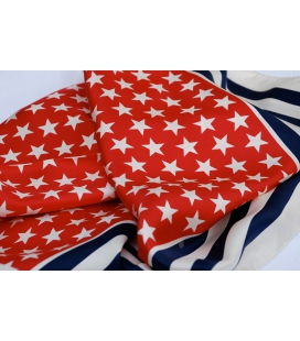 Silk bandana STARS & STRIPES